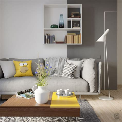 Grey And Yellow Open Plan Small Apartment Tour. Blue And Yellow Living Room. Dining Room Sets With Benches. Color Designs For Living Rooms. Navy Couch Living Room. Galley Kitchen Open To Dining Room. Pics Of Living Room Decorating Ideas. Red Couches Living Room. How To Place Area Rug In Living Room