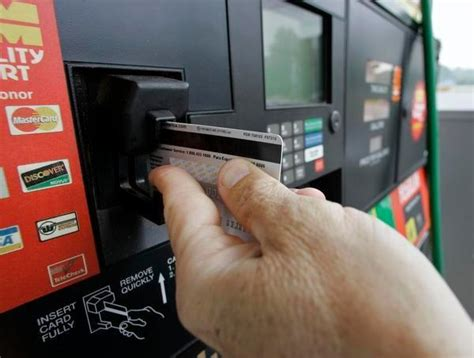 gas pumps wont upgraded accept chip cards