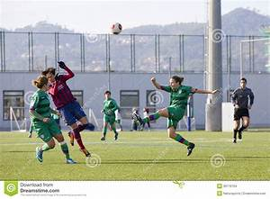 Women Soccer Match FC Barcelona Vs Levante Editorial