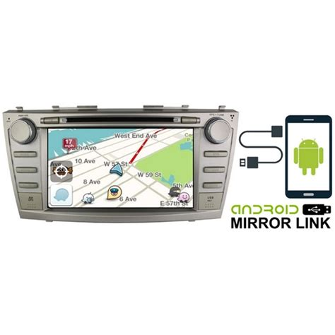 mirror link android buy toyota camry 2007 2011 dlaa 8 quot android mirror link