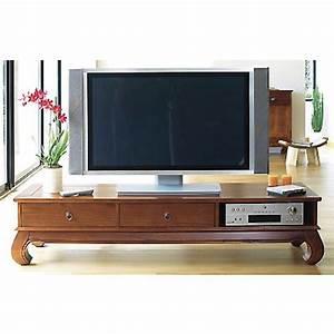 Meuble Tv Ecran Plat : meuble tv sp cial cran plat kang noyer anniversaire 40 ans acheter ce produit au meilleur ~ Teatrodelosmanantiales.com Idées de Décoration
