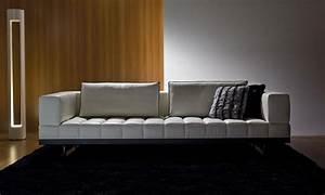 insula canape en cuir 264 x 110 idd With tapis jaune avec canapé modulable en cuir