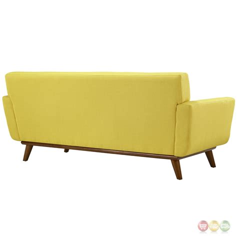 tufted sofa and loveseat engage modern 2pc upholstered button tufted loveseat and