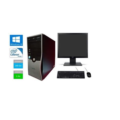 ordinateur nec bureau ordinateur avec windows 10 topiwall