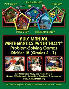 Pentathlon Institute Game Descriptions Division Iv