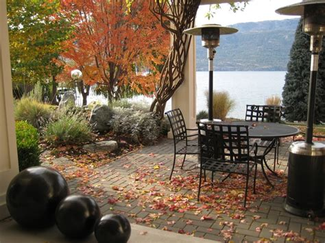 decorating a patio 40 cozy fall patio decorating ideas digsdigs