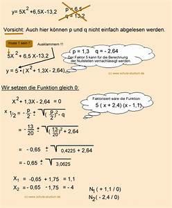 Nullstellen Berechnen Pq Formel : pq formel aufgaben mit schritt f r schritt l sungen pq formel mathematik 9 klasse ~ Themetempest.com Abrechnung