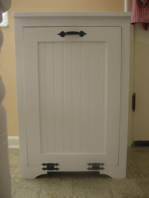 trash can storage cabinet wood tilt out trash can cabinet