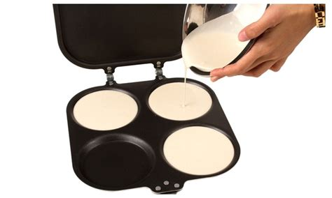 Picture Perfect Pancake Maker Pan And Omelette Maker Pan