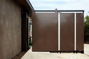 Custom Metal Sliding Barn Door - Malloy Residence