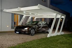 Garage 2 Voitures : installation d 39 un carport pour garage 2 voitures ~ Melissatoandfro.com Idées de Décoration