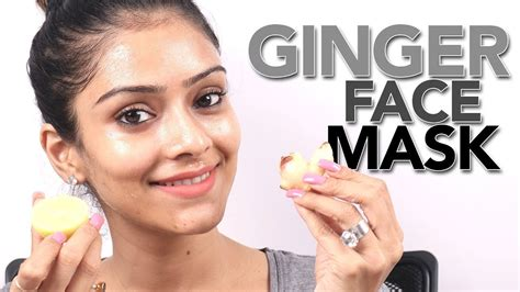 diy ginger face mask face mask tutorial home remedy