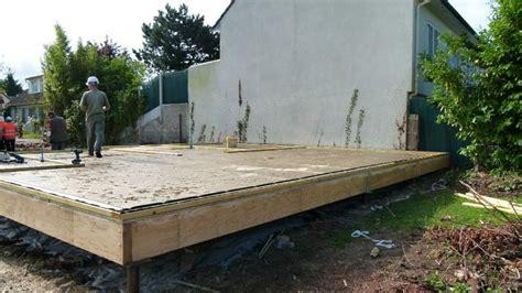 p1000279 photo de plancher bois construction d une maison ossature bois
