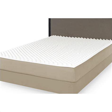 3 memory foam mattress topper highloft 3 quot thick memory foam mattress topper ebay