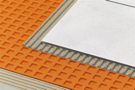 Installing Tile Underlayment Membrane by Schluter 174 Ditra Ditra Xl Uncoupling Ditra