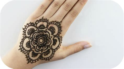 henna motive henna tutorial 1 blume