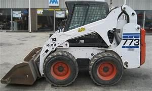 Bobcat 773 Turbo Skid Steer Loader Service Repair Workshop Manual 517611001