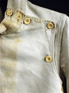 Jacket-Fencing; French?, Man's, Cotton, Bone Buttons ...