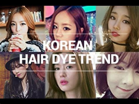 Coloring Hair Korean by Korean Hair Dye Trend Self Hair Dying Tips Wishtrend