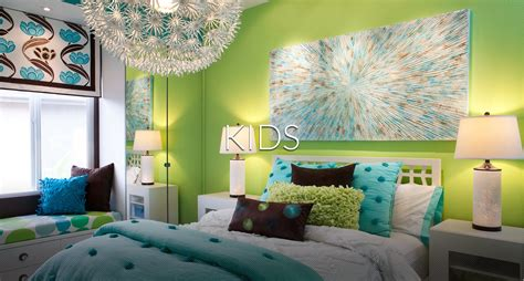vibrant transitional family home kids girls room robeson