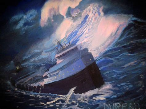 where exactly did the edmund fitzgerald sank the wreck of the edmund fitzgerald
