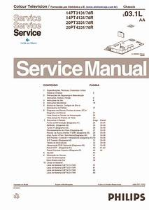 Philips Chassis L03 1l   Aa  Service Manual  Repair Schematics