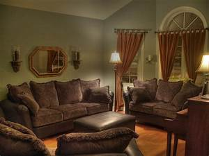 best interior design house With brown couches living room design