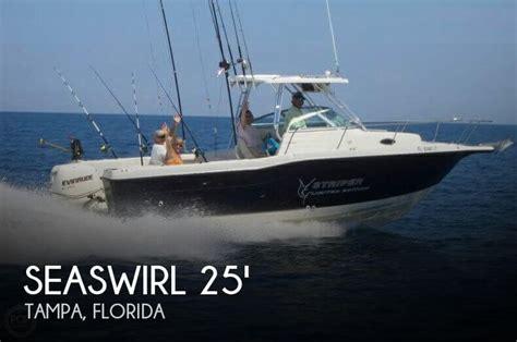 Used Striper Boats For Sale In Florida by For Sale Used 2000 Seaswirl Striper 2600 Wa In Ta