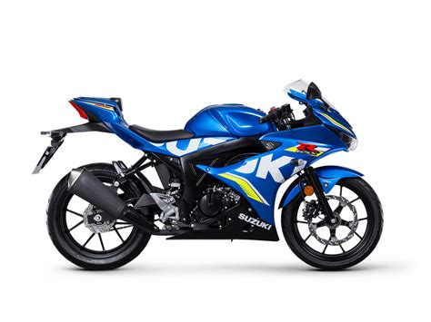 suzuki motorcycle gsx r125 motogp xal8 chelsea motorcycle group