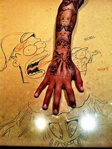 chris brown tattoos on Tumblr