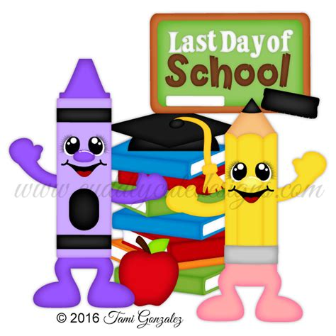 Last Day Of School Clipart Last Day Of School