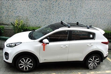 kia roof rack fit kia new sportage 2016 2018 baggage luggage roof rack