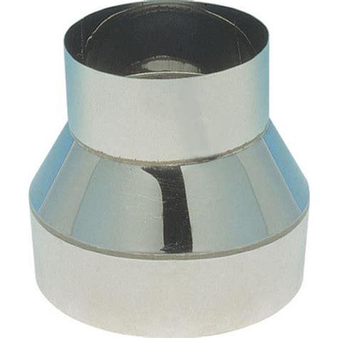 Reducteur Cheminee 200 150 by R 233 Duction Simple Paroi Inox Femelle 200 Mm R 233 Duit M 226 Le
