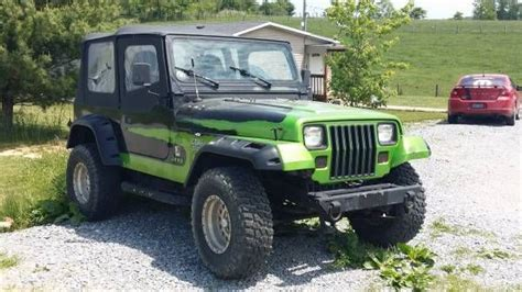monster energy jeep 1994 jeep wrangler yj monster energy 4cyl 5 speed no