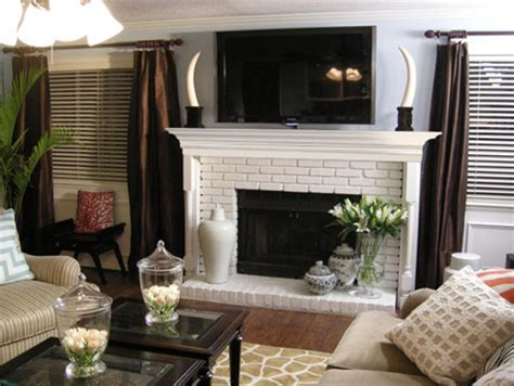 home dzine home diy   simple fireplace surround