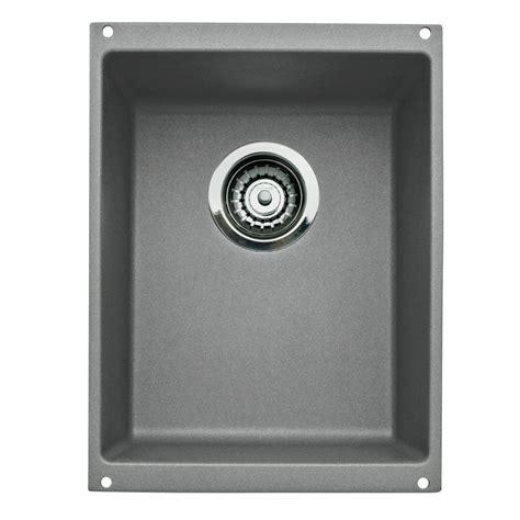 single kitchen sinks blanco performa undermount granite composite 33 in 1 3 4 2248