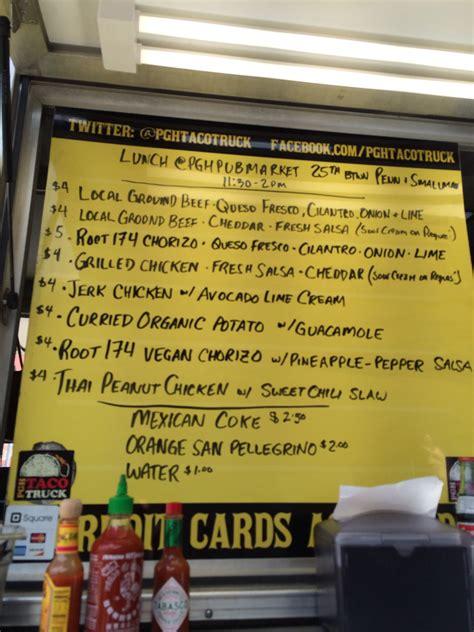 Best menus of virginia beach. Pittsburgh Food Trucks: On Board the Pittsburgh Taco Truck ...