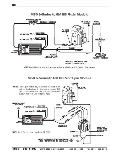 Msd 6al 6420 Wiring Diagram 90 95 msd distributor wiring diagram