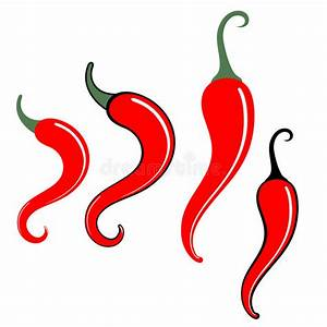 Chili Pepper Stock Vector  Illustration Of Jalapeno