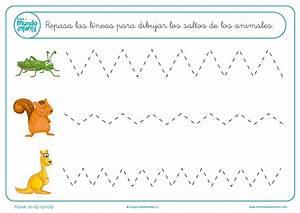 Fichas de grafomotricidad Mundo Primaria