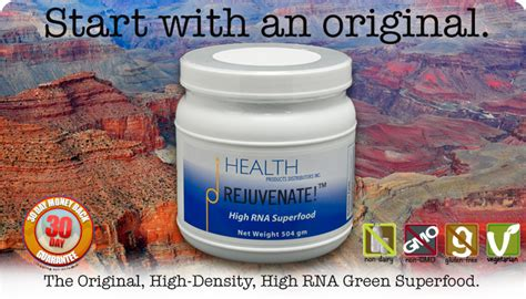 Nulife Rejuvenate Original rejuvenate the original high rna green superfood