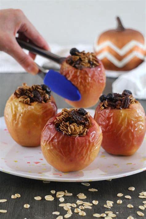 fryer air apples baked recipes pumpkin spice vegan halloween super half star these