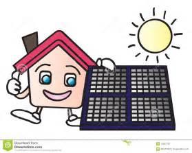 energy saving house plans house solar energy royalty free stock photography image 10847797