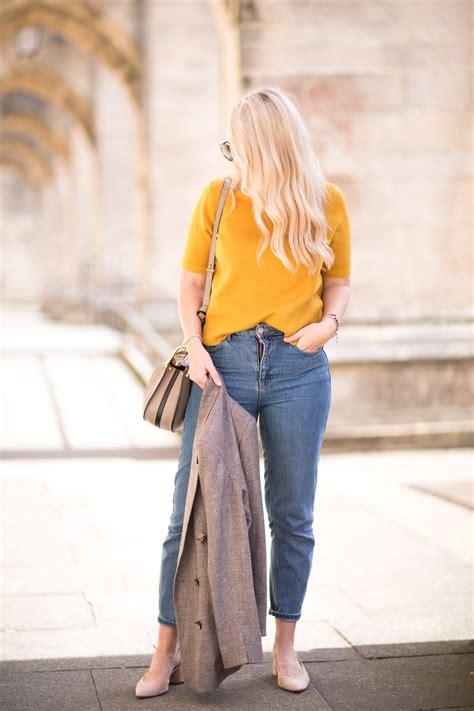 transitioning  autumn work wear  mustard yellow