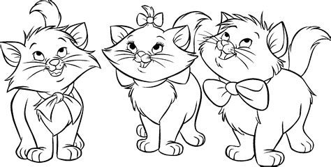 Fat Cat Coloring Pages