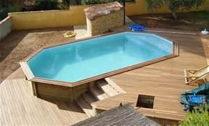 Liner Piscine Octogonale : vendeur piscine octogonale avignon hors sol cavaillon semi ~ Melissatoandfro.com Idées de Décoration