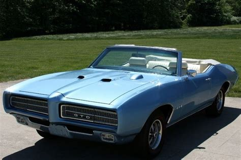 blue book used cars values 1968 pontiac gto electronic toll collection warwick blue 1969 gto convertible raiii classic muscle cars convertible and blue