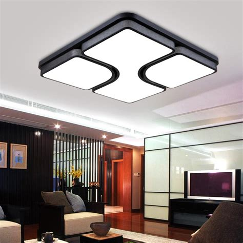 Led Lights In Dining Room by Modern Flush Mount Fashion Led Dimmable Acrylic Square