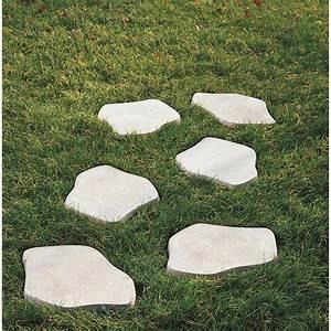 Pas japonais béton ton pierre Leroy Merlin