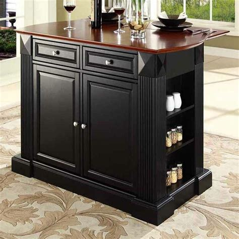 plumeria drop leaf breakfast bar top kitchen island wayfair